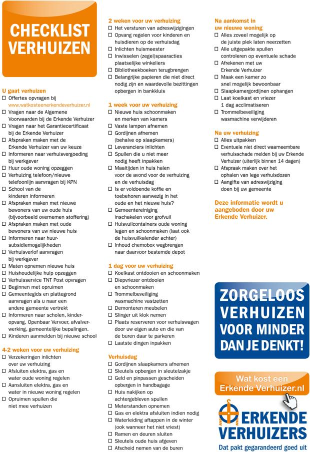 checklist verhuizen e b
